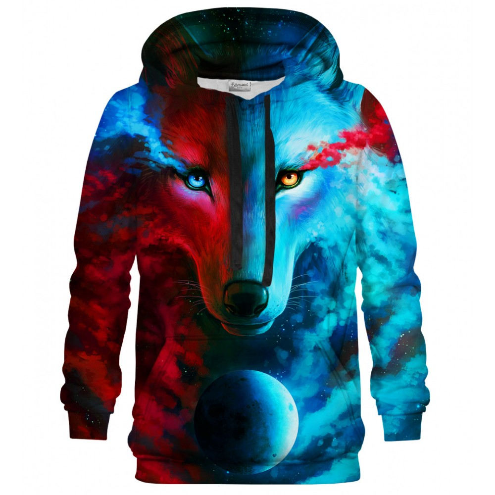 Dark and Light Meet Hoodie