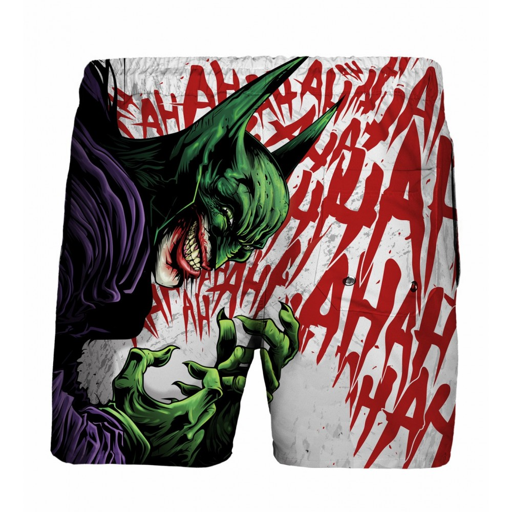 Bat-Joker Swim Shorts