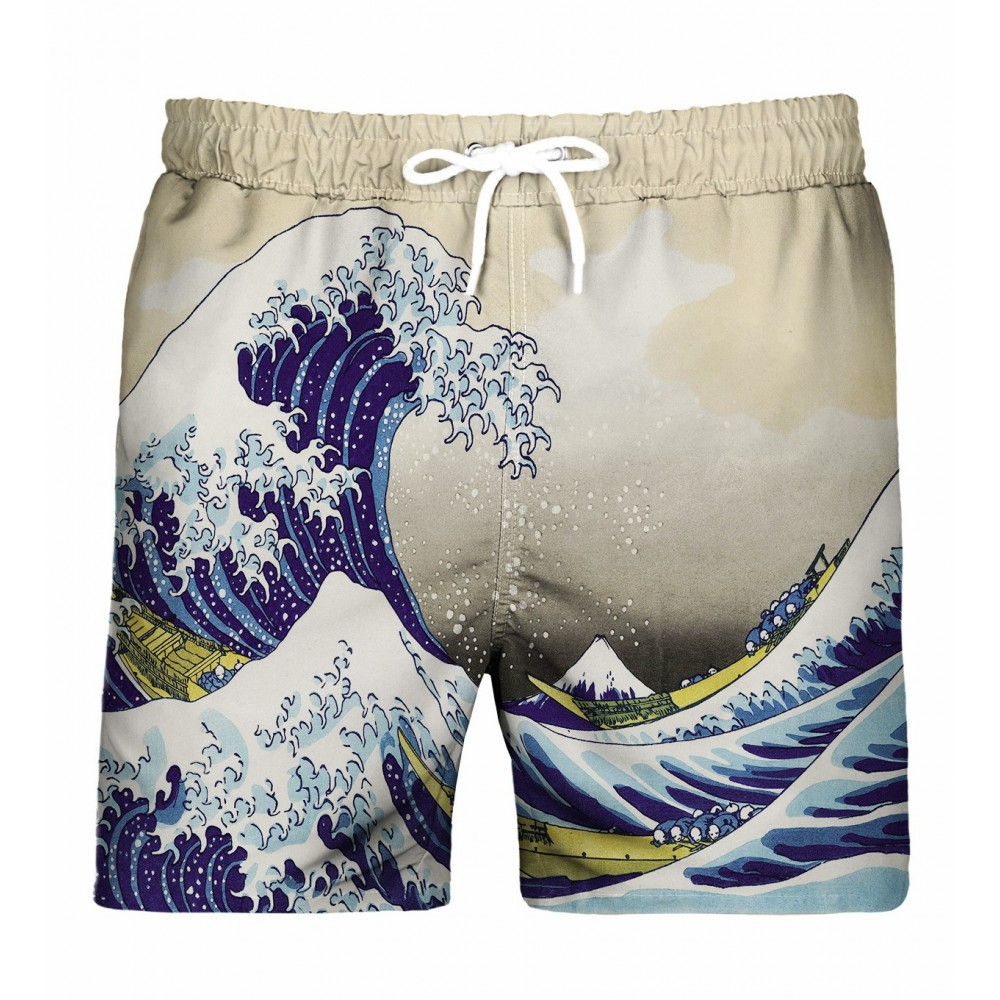 Great Wave Swim Shorts